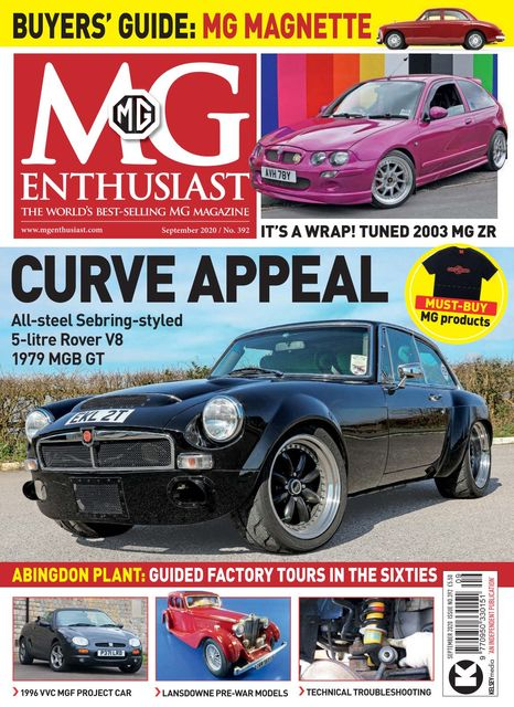MG Enthusiast issue 09/2020
